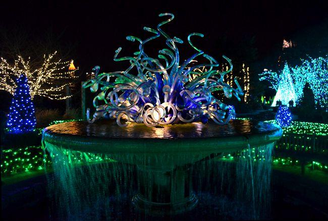 Garden Lights Holiday Nights Atlanta 2016