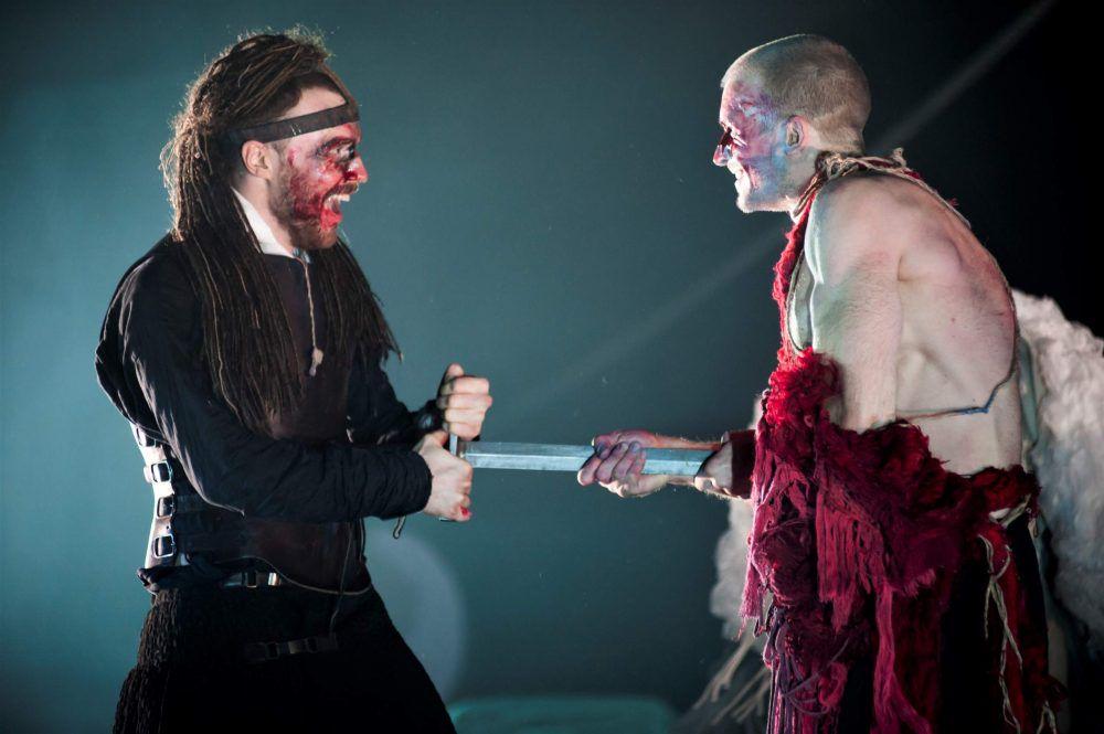 Спектакль «Легенда о Хромоножке» в Театре имени Вахтангова фото 6