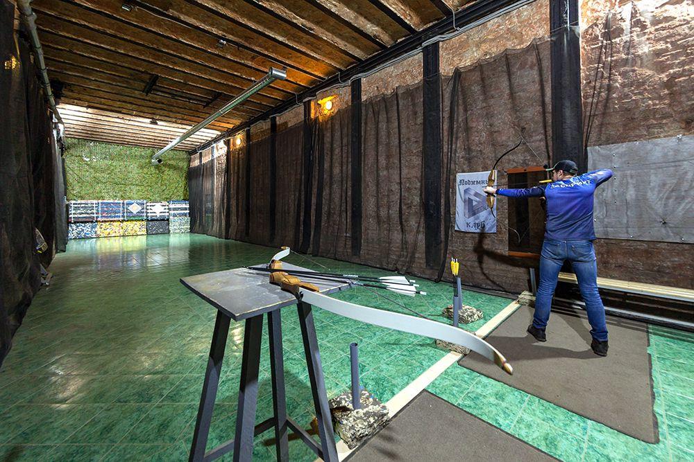 Занятия по стрельбе из лука и арбалета в клубе «Лабиринт» фото 6