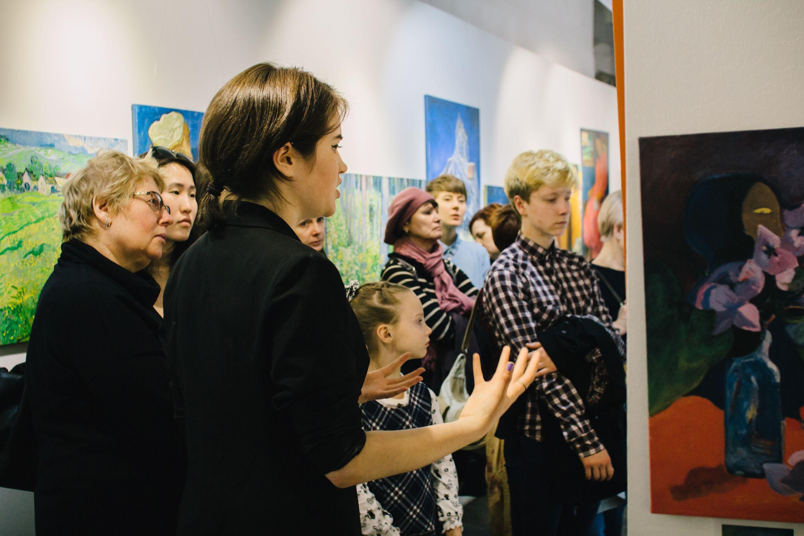 Выставка «Ван Гог и Гоген» фото 3