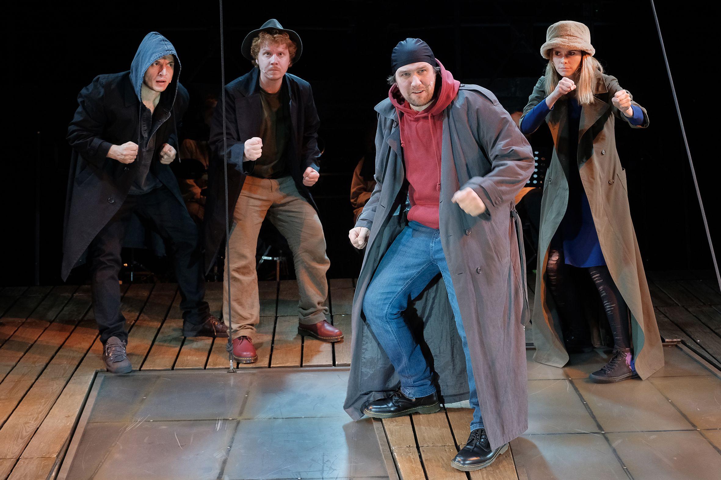 Спектакль «#Осторожнобасни» в Театре Et Cetera фото 1