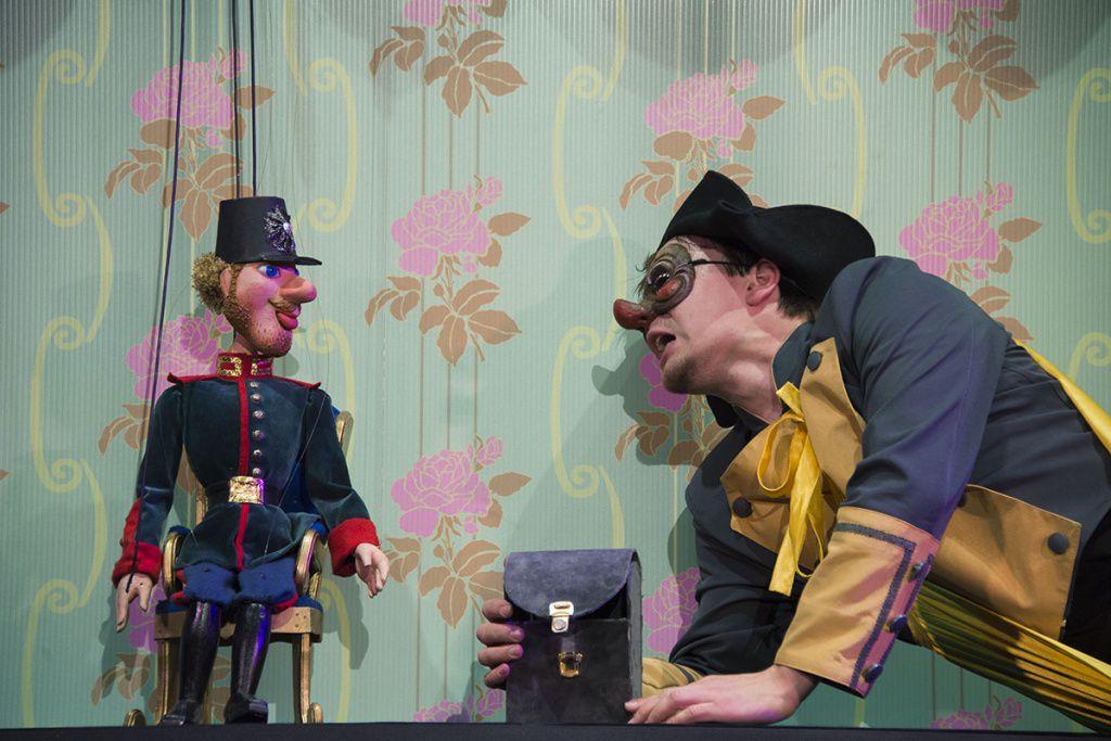 Спектакль «Огниво» в Московском театре кукол на Спартаковской фото 1