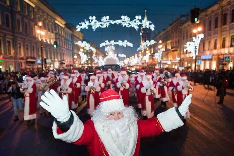 программа новогодних мероприятий санкт петербурге