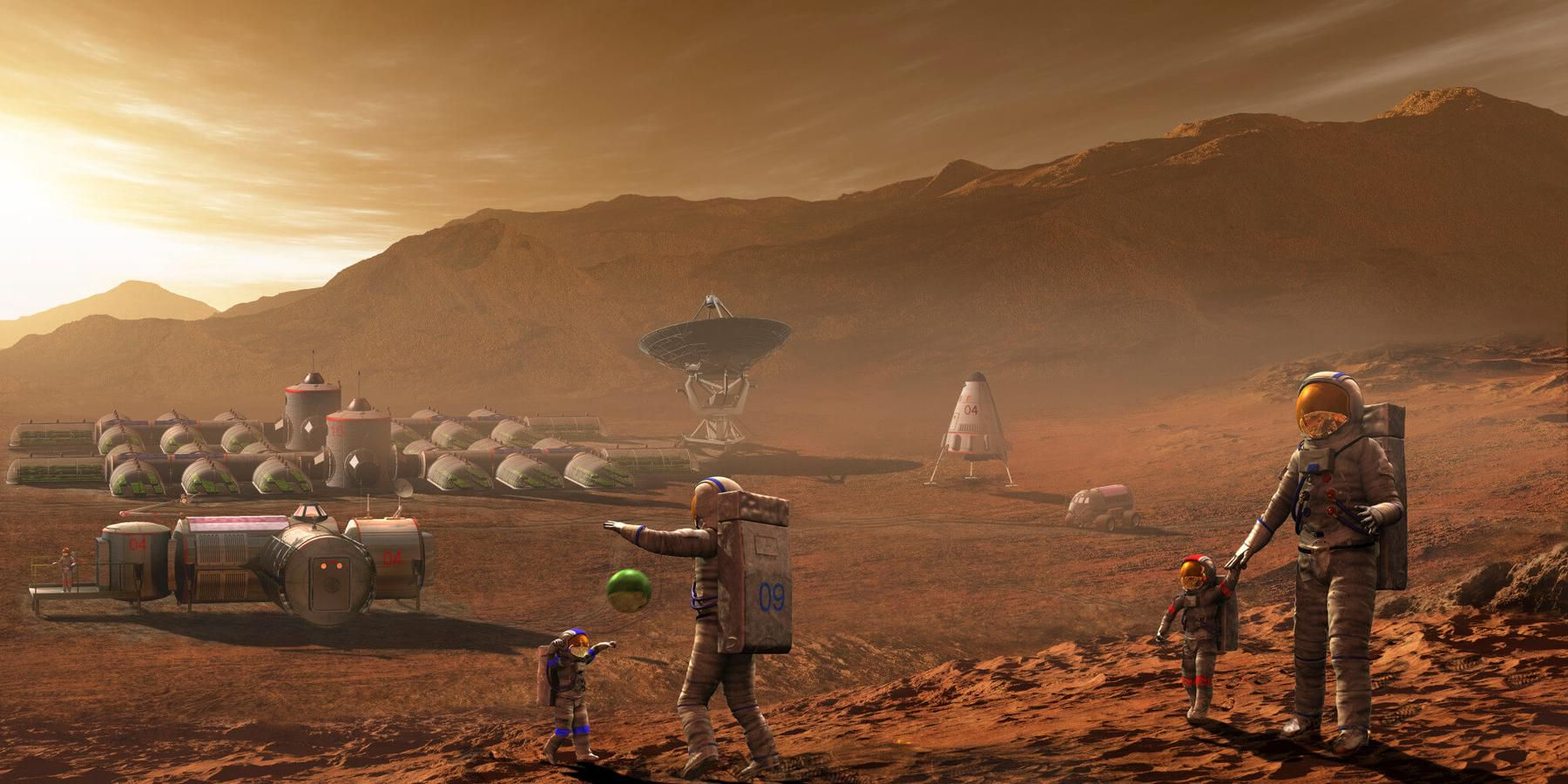 Вебинар «Колонизация Марса» фото 1