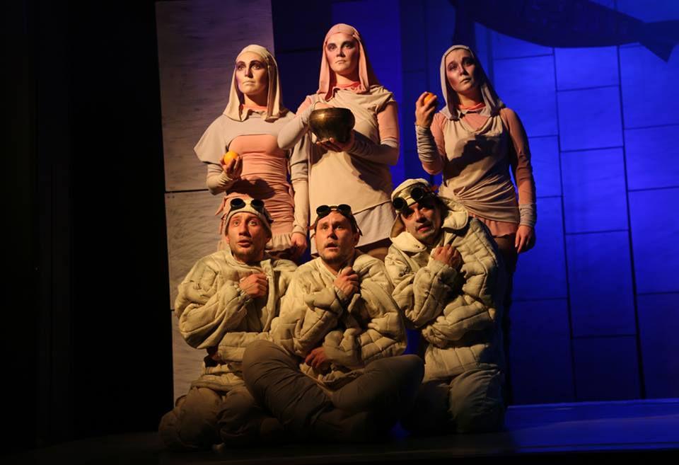 Спектакль «Морожены сказки» в Московском театре кукол на Спартаковской фото 7