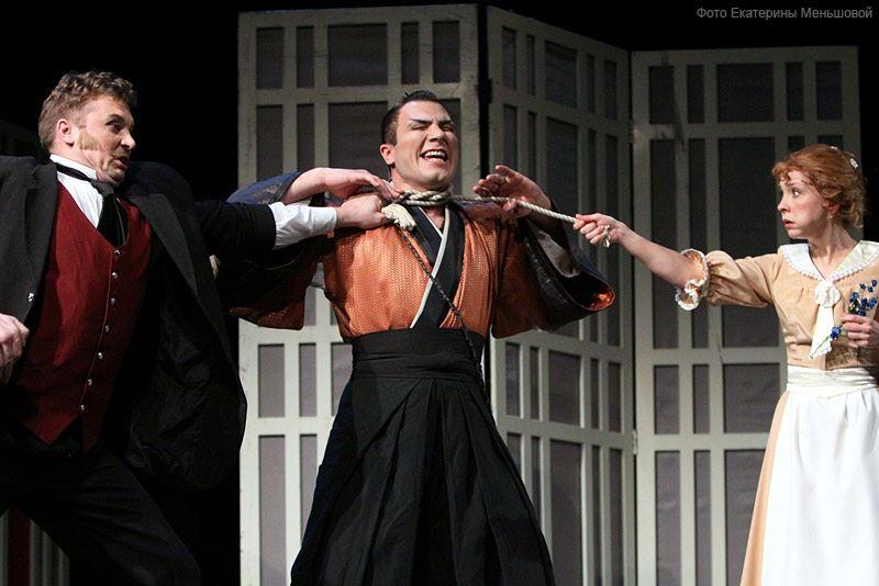 Спектакль «Инь и Ян» Бориса Акунина в РАМТе фото 8
