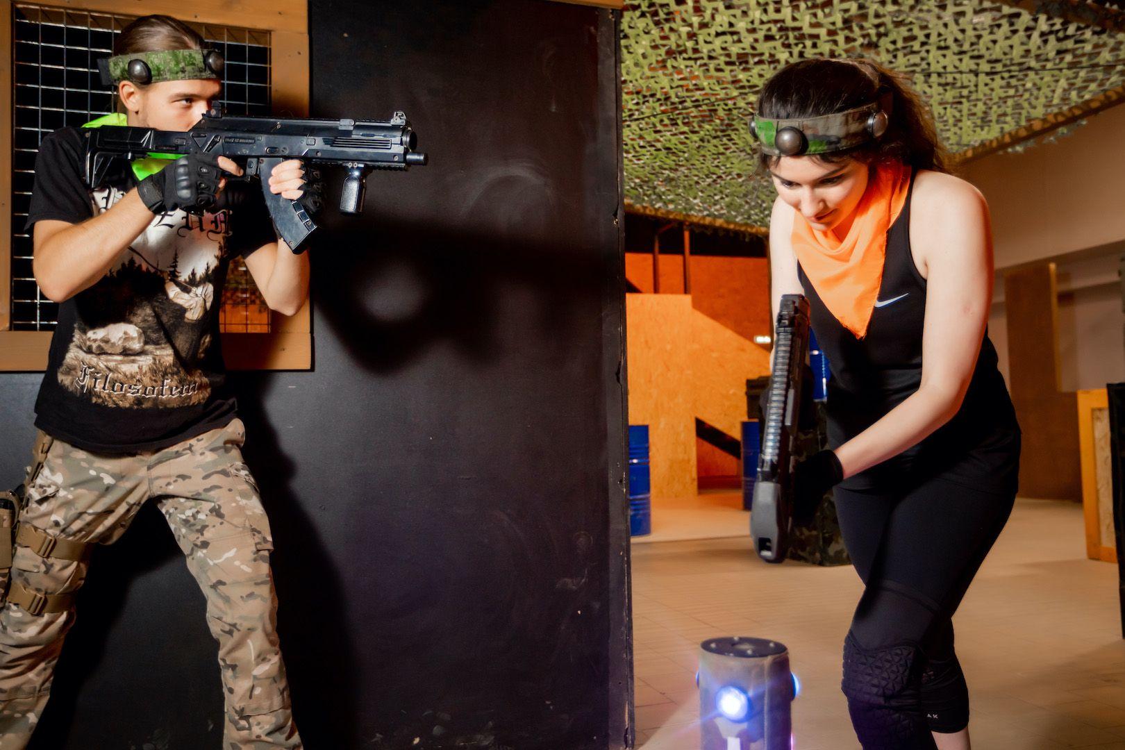 Открытые игры по лазертагу в клубе «Лабиринт» фото 5