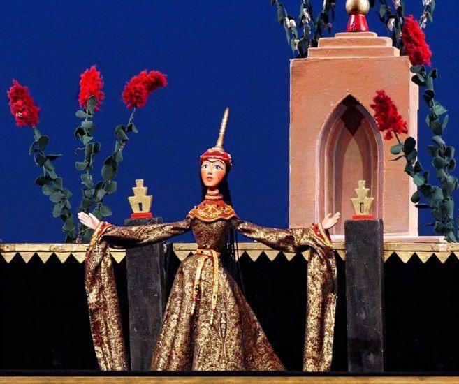 Спектакль «Волшебная лампа Аладдина» в Театре кукол им. С. В. Образцова фото 1
