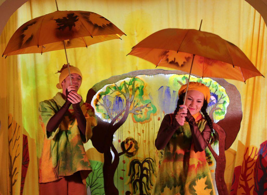 Спектакль «Театр на ладошке. Осень» в Московском театре кукол на Спартаковской фото 5