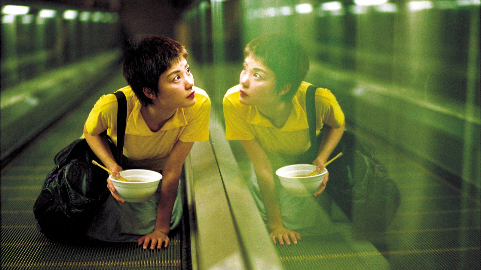 Показ фильма «Чунгкингский экспресс» в летнем кинотеатре Garage Screen фото 1
