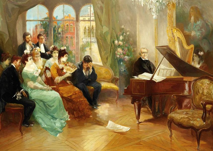 Открытка цветами, картинка и музыкальное произведение