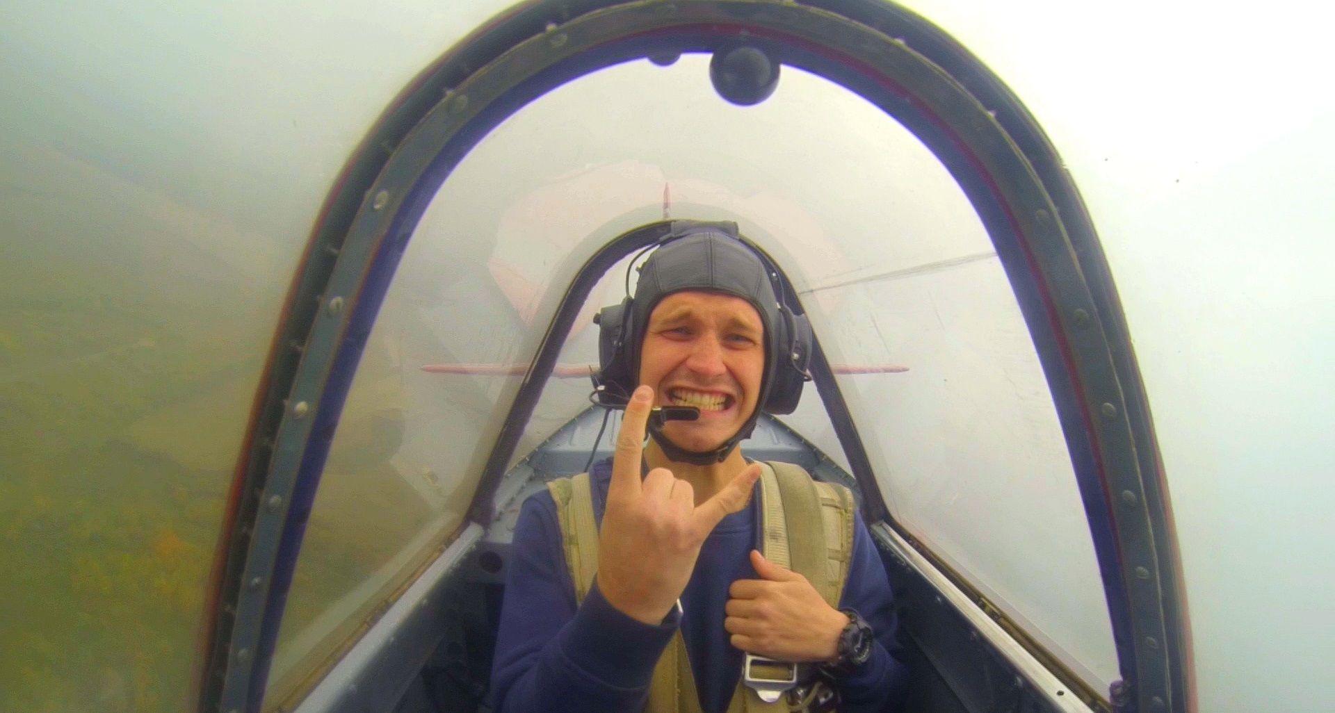 Полёт на самолёте по программе высшего пилотажа фото 3