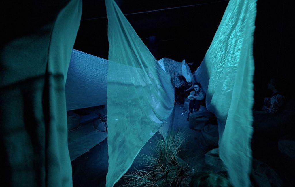 Спектакль «Ежик в тумане» в Московском театре кукол на Спартаковской фото 7