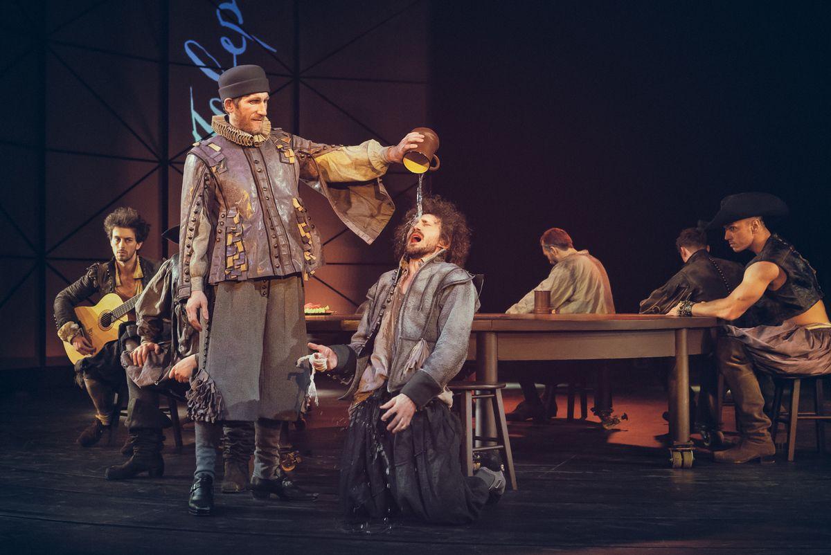 Спектакль «Влюблённый Шекспир» в Театре имени А. С. Пушкина фото 5