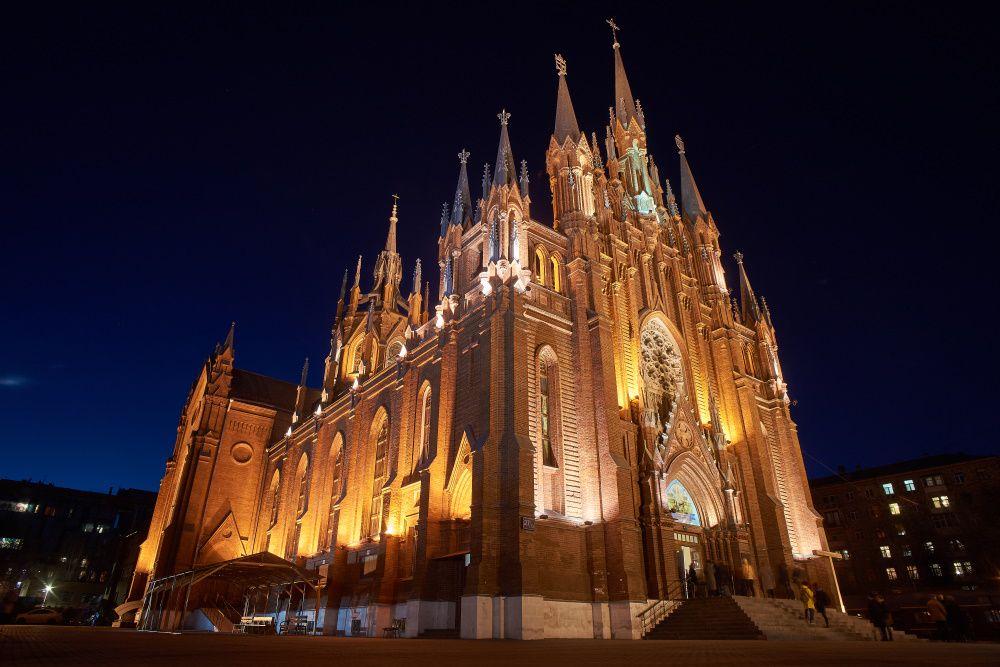 Органный концерт «Вечер при свечах. Играет Александр Фисейский» в Римско-католическом Кафедральном соборе фото 4