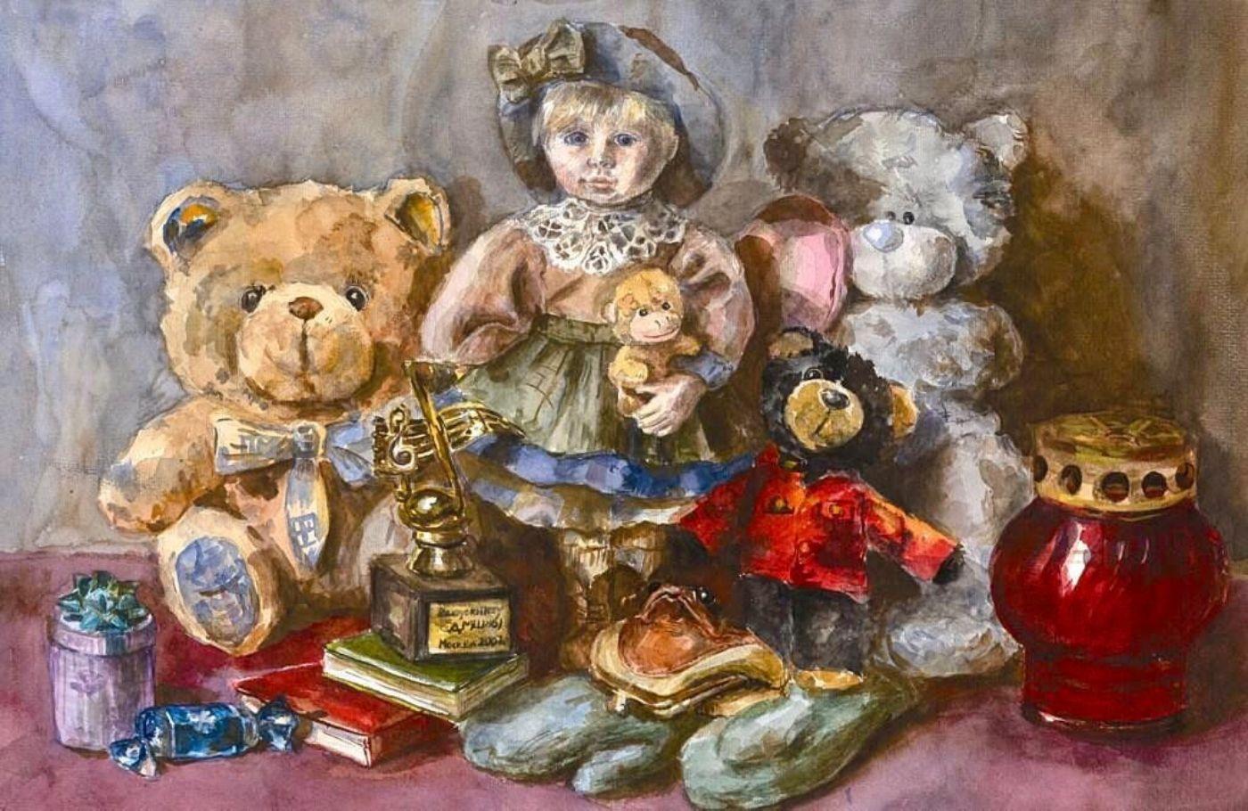 Выставка репродукций учеников Школы акварели Сергея Андрияки фото 1