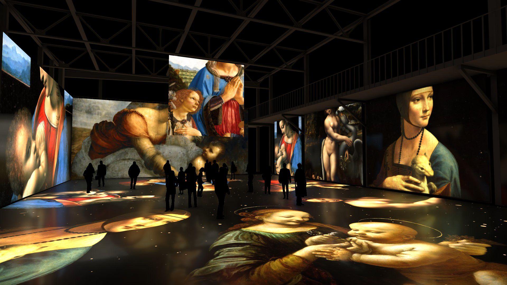 Мультимедийная выставка «Леонардо да Винчи. Тайна гения» фото 5