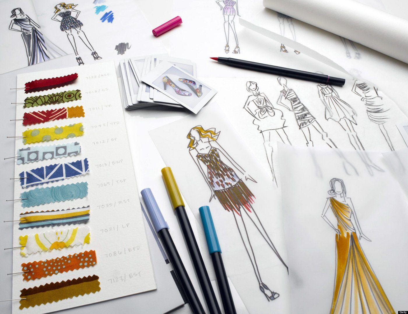Обучение дизайна одежды