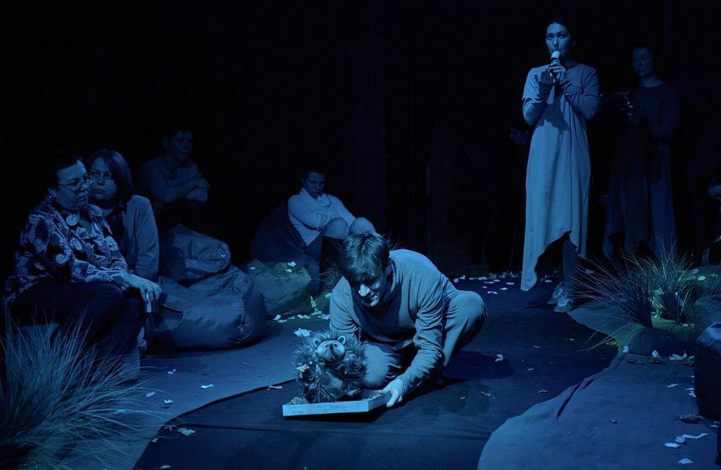 Спектакль «Ежик в тумане» в Московском театре кукол на Спартаковской фото 1