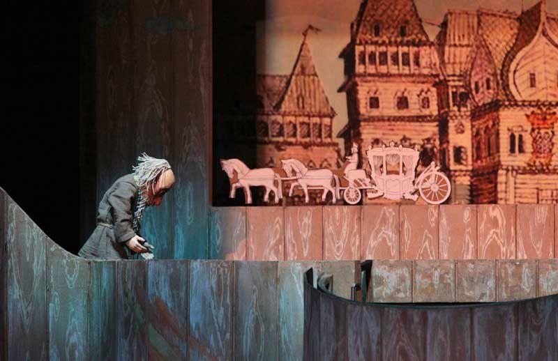 Спектакль «Сказка о рыбаке и рыбке» в Театре кукол им. С. В. Образцова фото 2