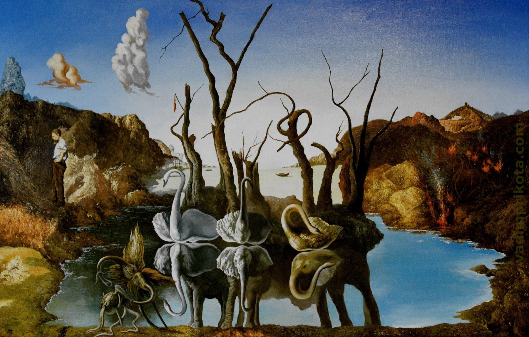 an analysis of dada and surrealism as influence of sigmund freud