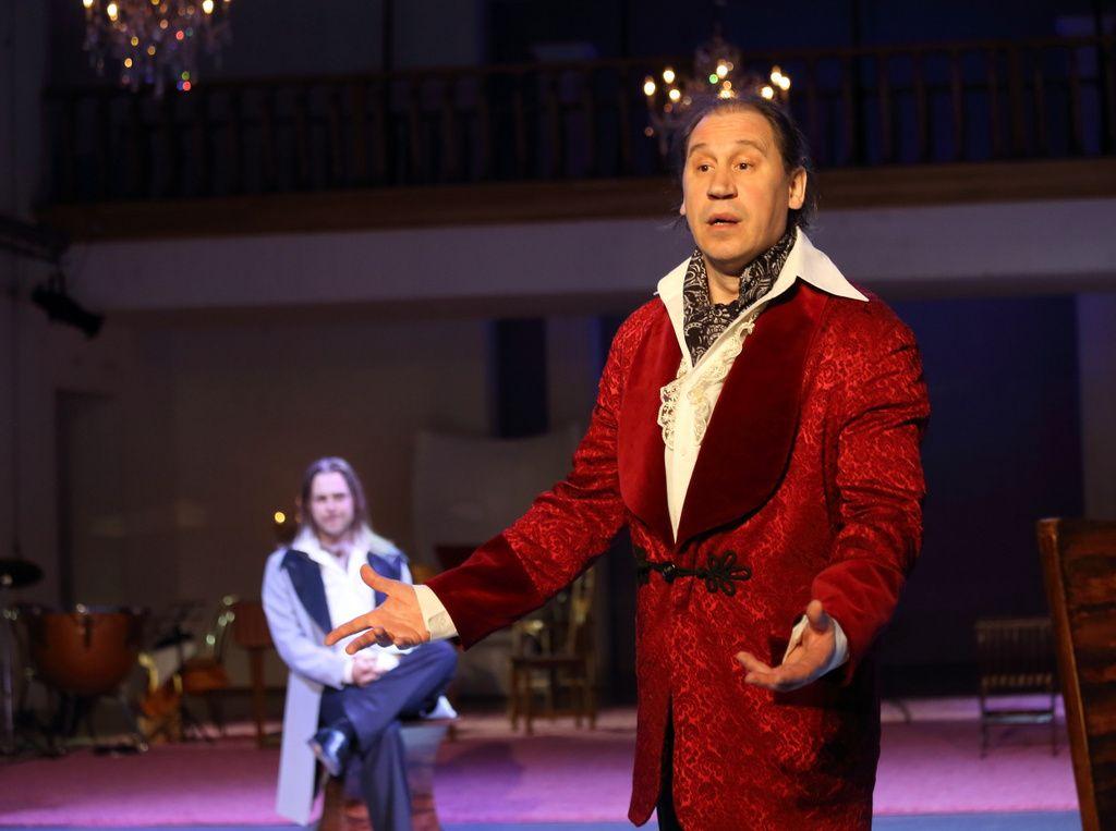 Спектакль «Горе от ума. Московские сны» в Театре «Школа драматического искусства» фото 4
