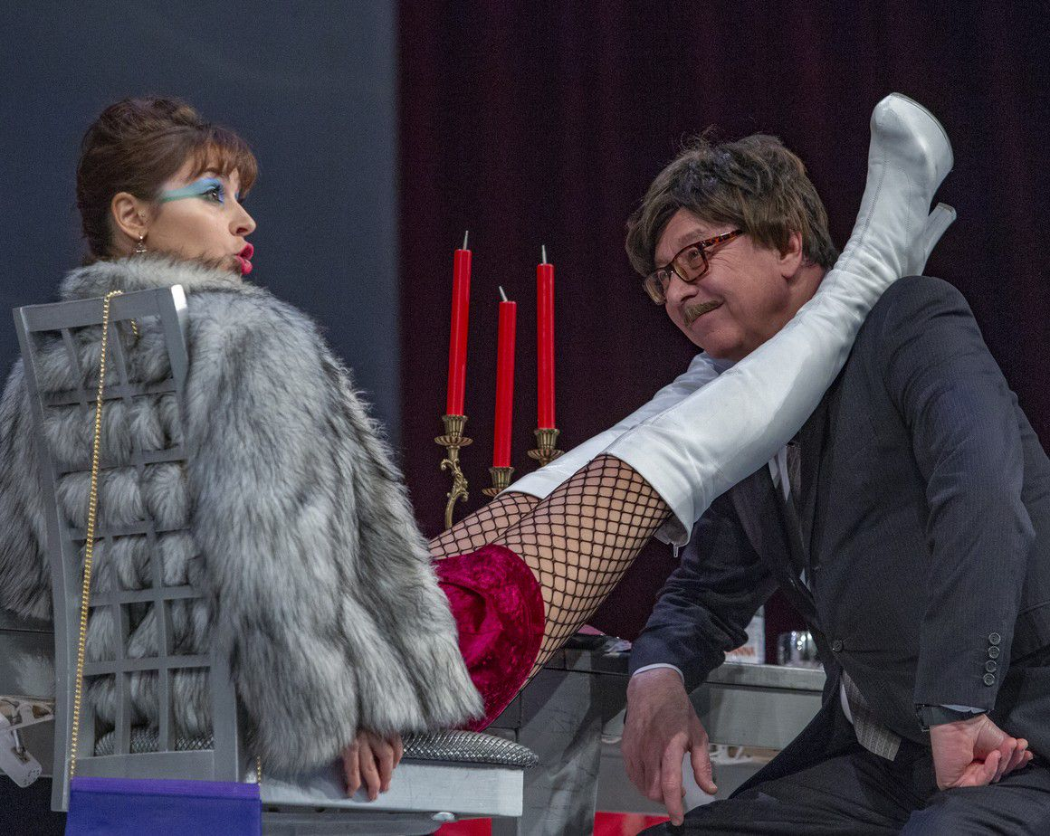 Спектакль «Хомо Эректус» в Театре сатиры фото 2