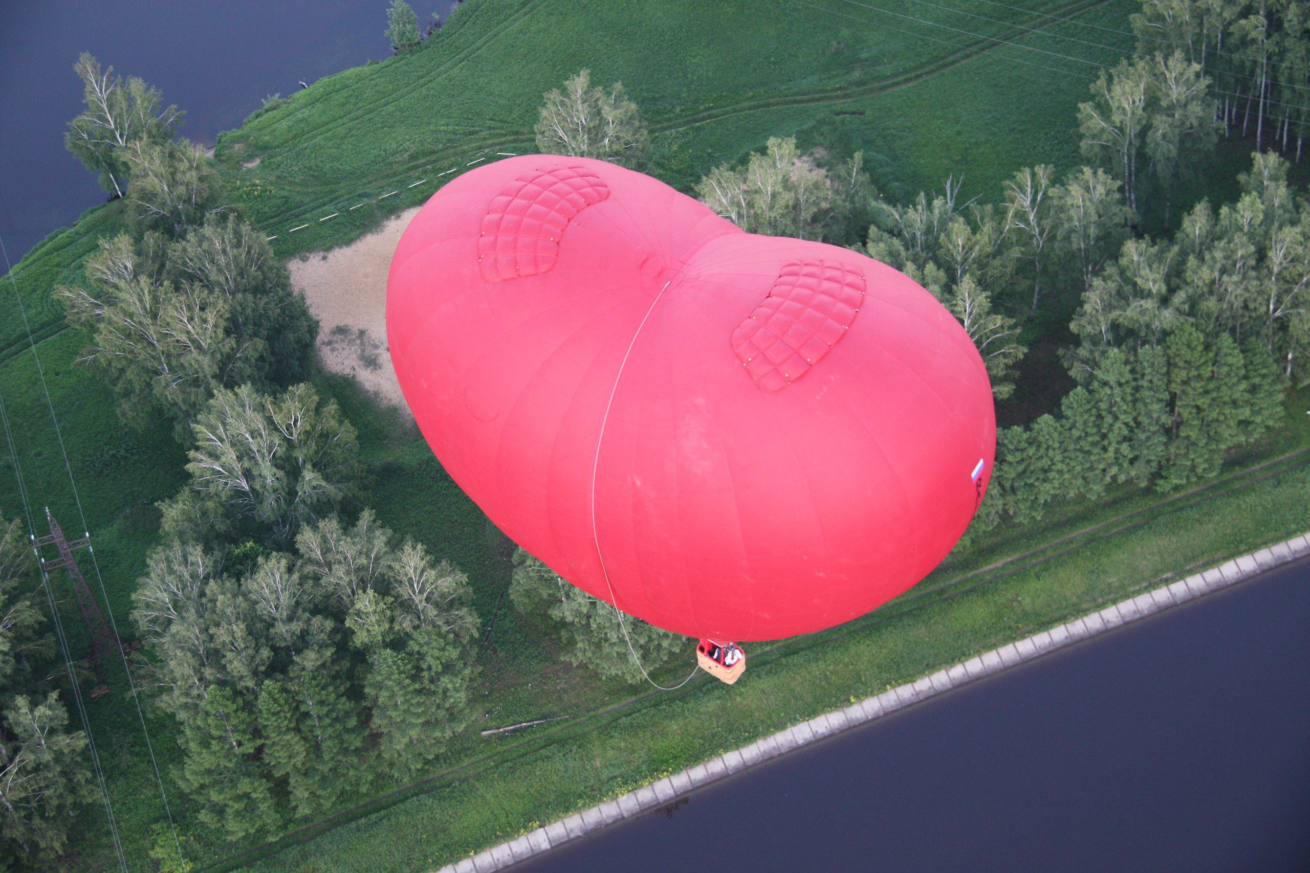 Полёт на воздушном шаре «Сердце» фото 2