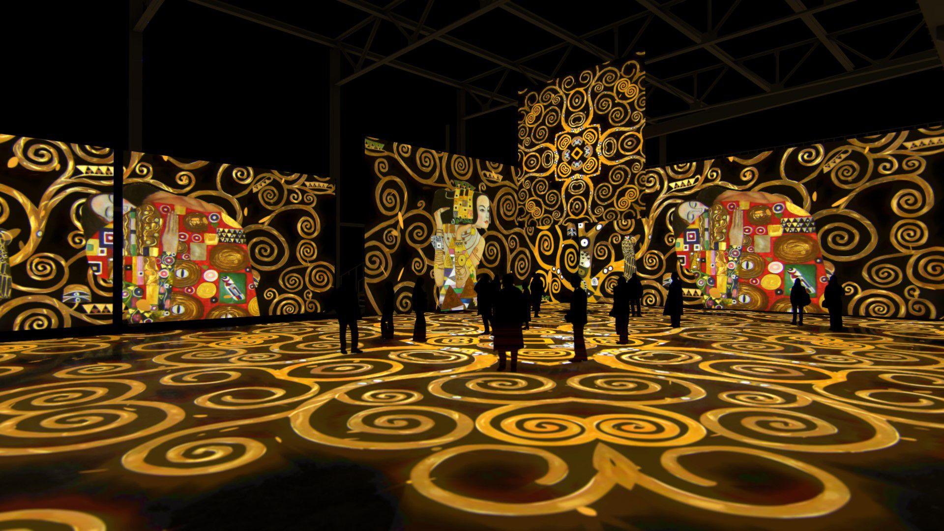 Мультимедийная выставка «Густав Климт. Золото модерна» фото 11