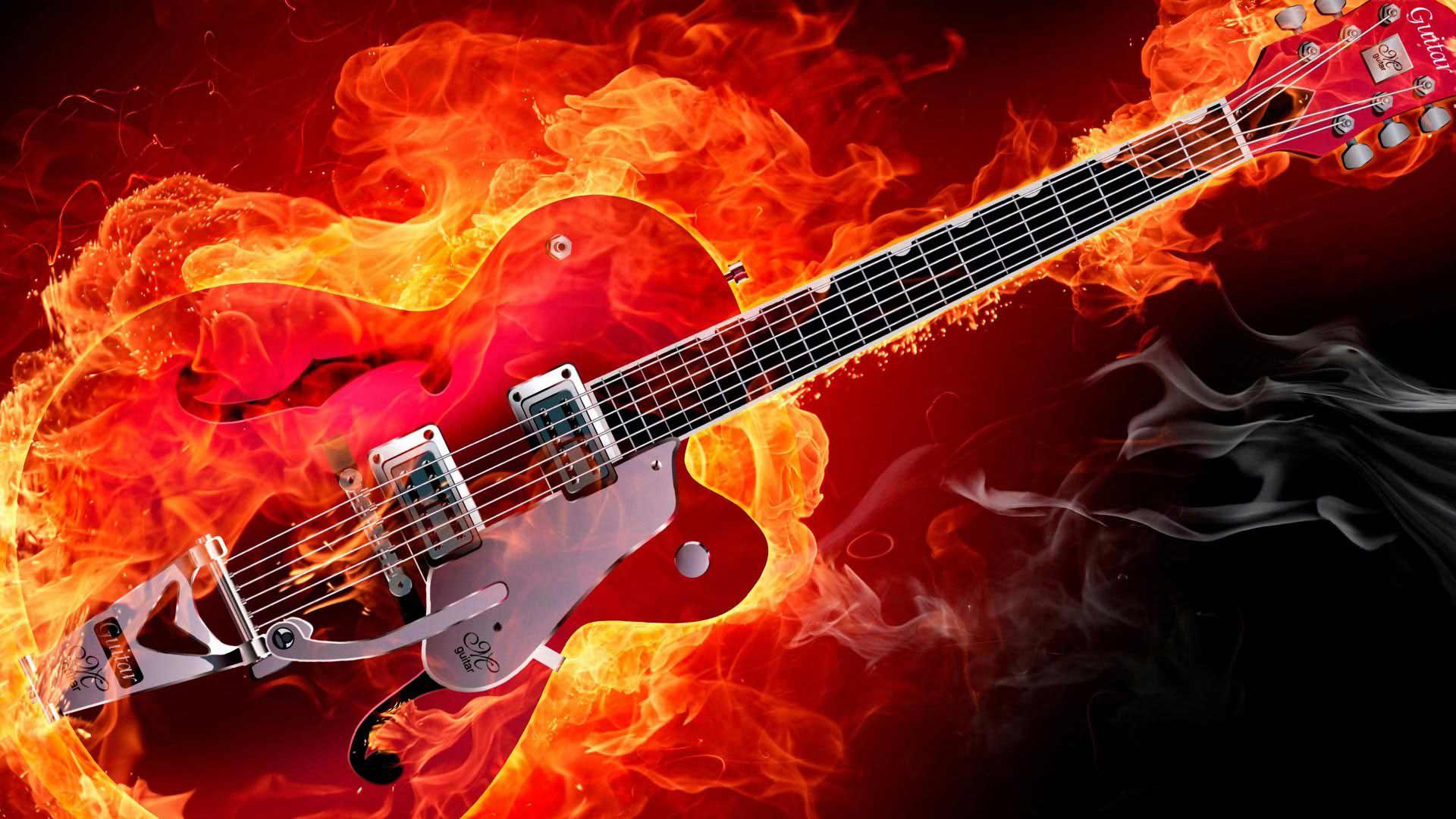 Картинки рок гитара на рабочий стол
