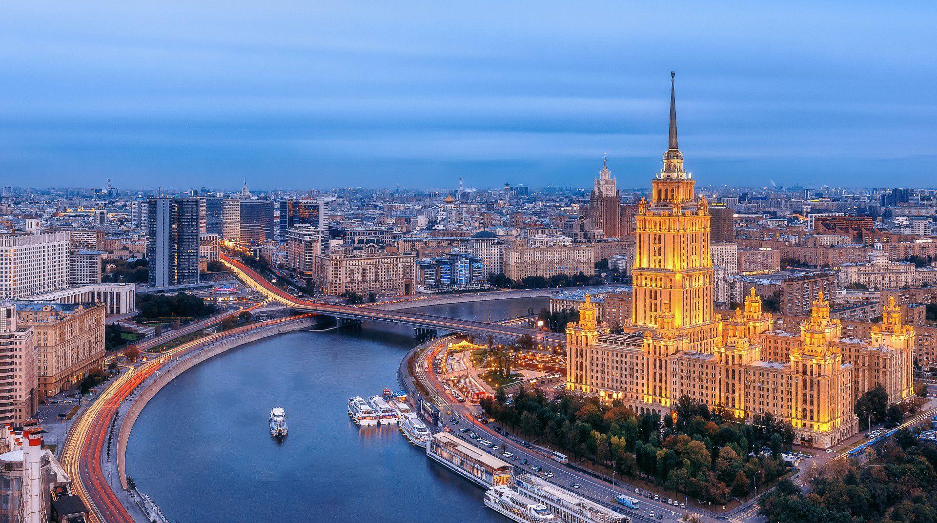 Экскурсия по вечерней Москве фото 1