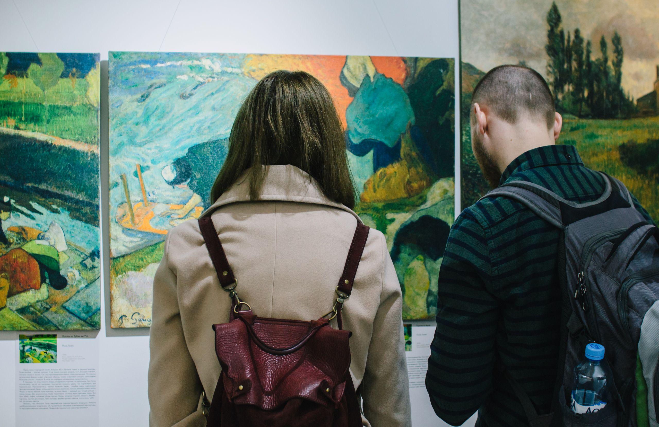 Выставка «Ван Гог и Гоген» фото 2
