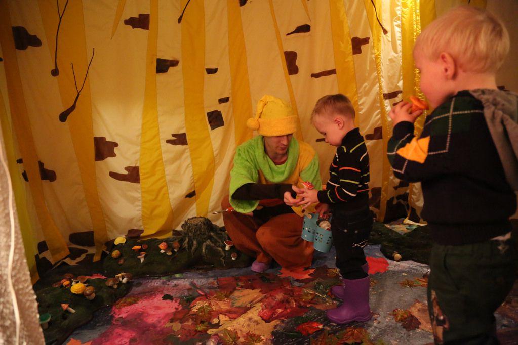 Спектакль «Театр на ладошке. Осень» в Московском театре кукол на Спартаковской фото 4