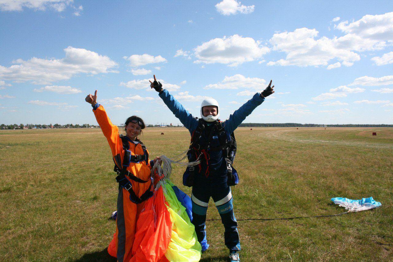 Прыжки с парашютом фото 1