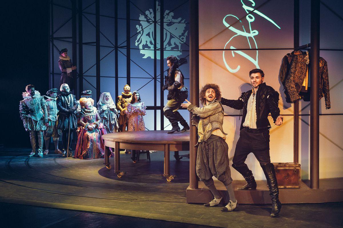 Спектакль «Влюблённый Шекспир» в Театре имени А. С. Пушкина фото 3