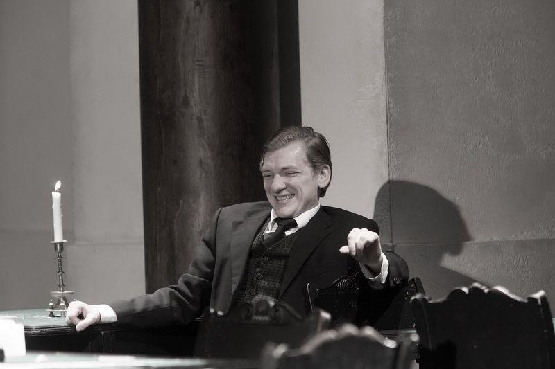 Спектакль «Игроки» по пьесе Н. В. Гоголя в Студии театрального искусства фото 6