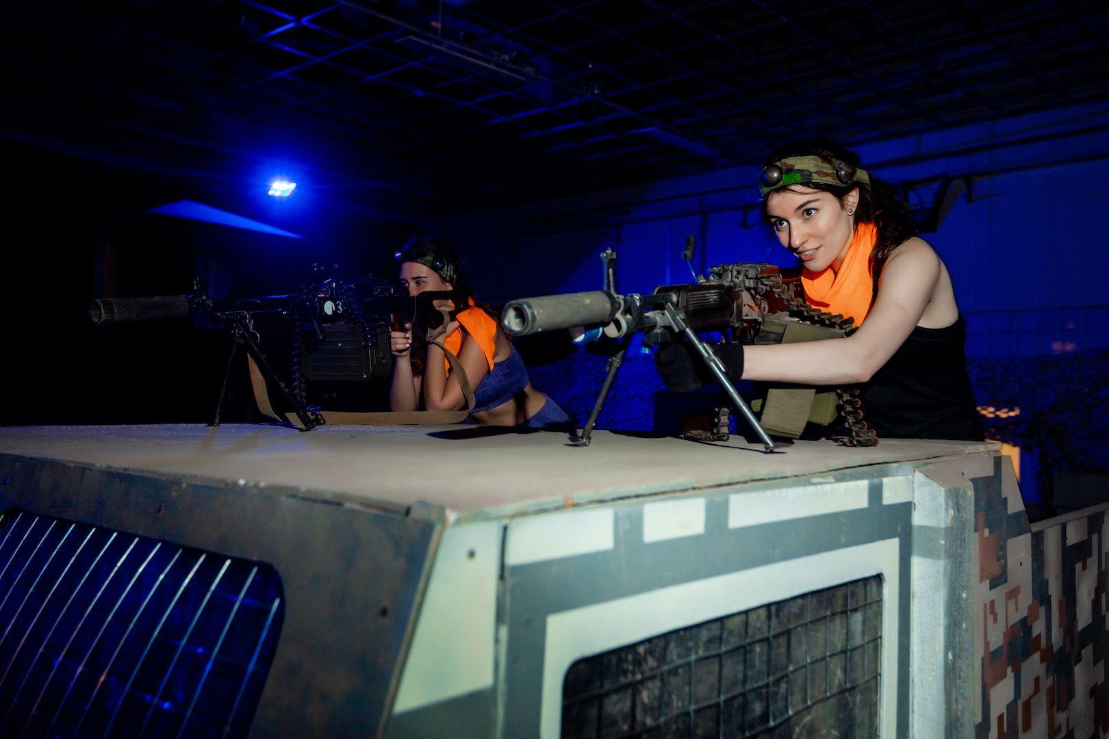 Открытые игры по лазертагу в клубе «Лабиринт» фото 1