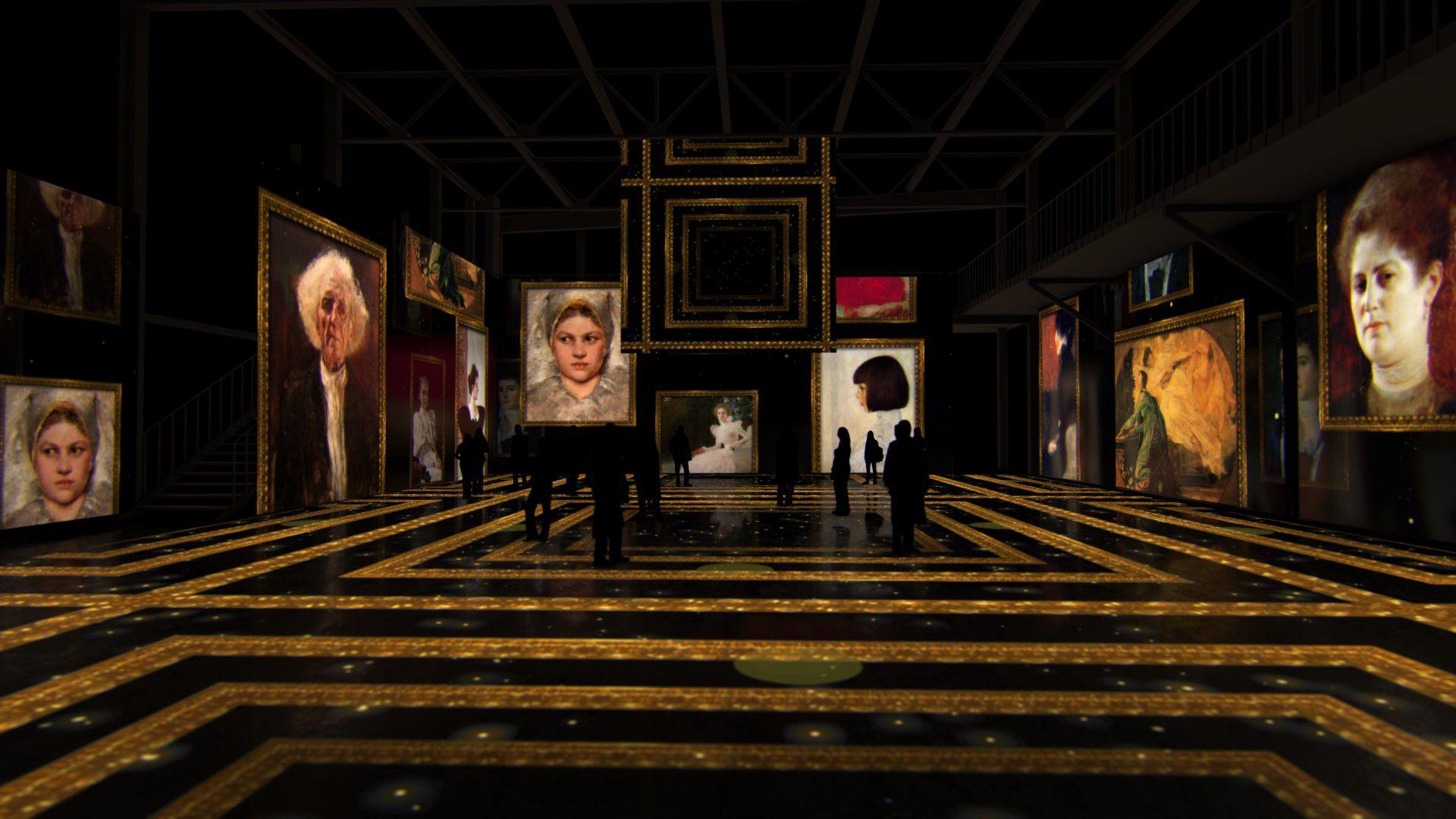 Мультимедийная выставка «Густав Климт. Золото модерна» фото 12