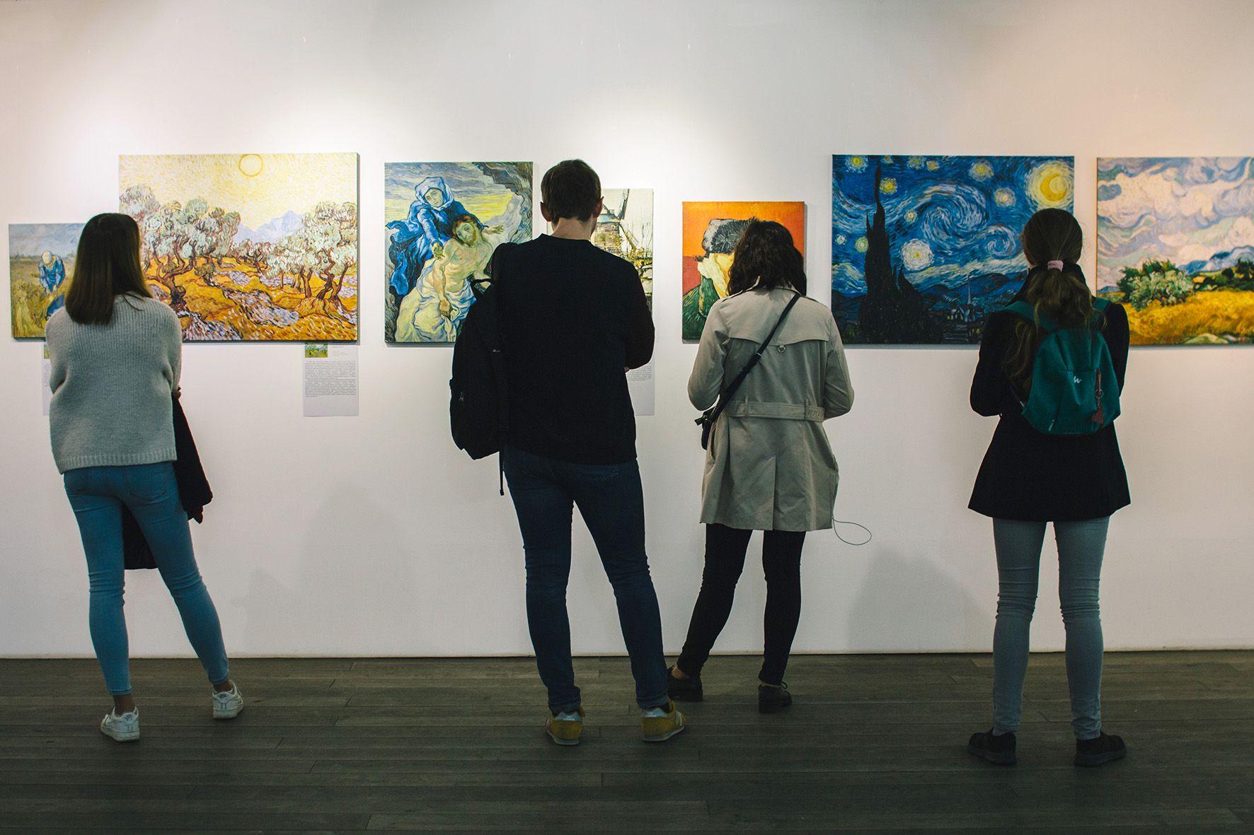 Выставка «Неизвестный Ван Гог» фото 2
