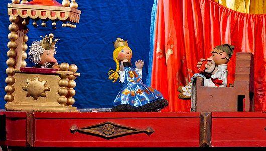 Спектакль «По щучьему велению» Е. Тараховской в театре Образцова фото 1
