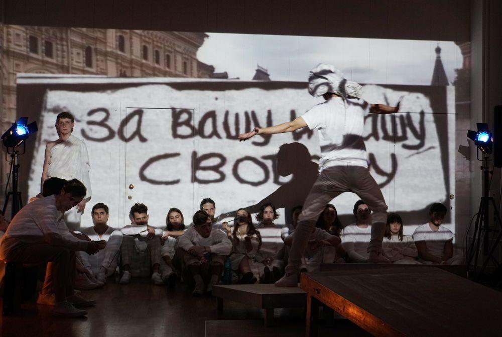 Спектакль «Немой выбор» в Театре «Современник» фото 2