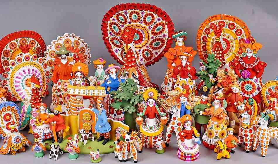 игрушки из глины фото