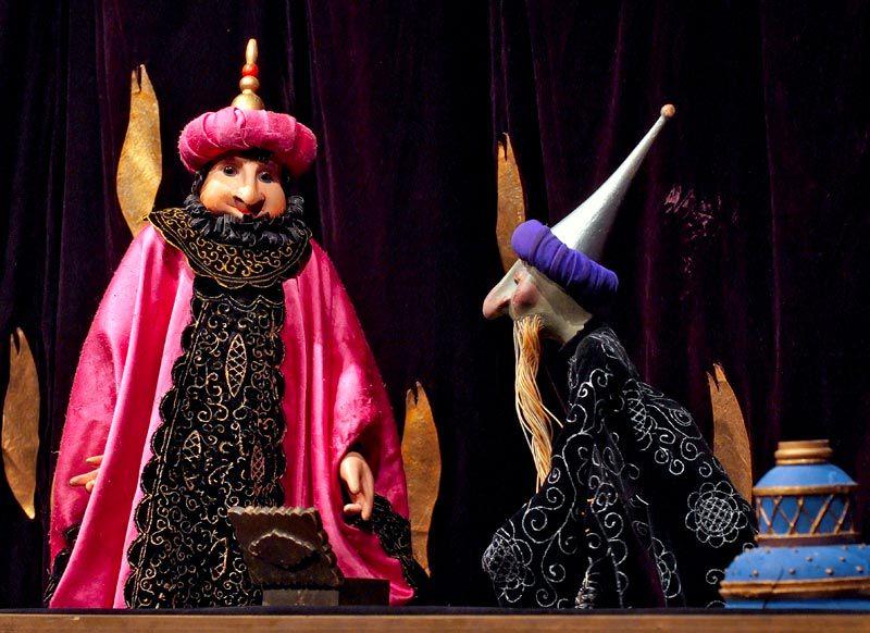 Спектакль «Волшебная лампа Аладдина» в Театре кукол им. С. В. Образцова фото 4