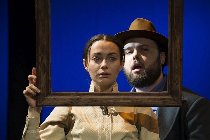 Спектакль «Фрида. Жизнь в цвете» в Театре имени Евг. Вахтангова фото 8