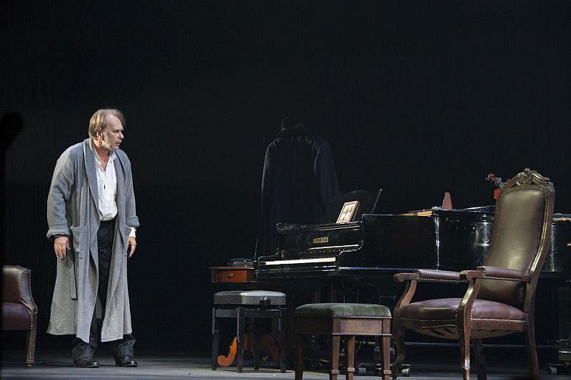 Спектакль «Фальшивая нота» в Театре имени Евг. Вахтангова фото 6