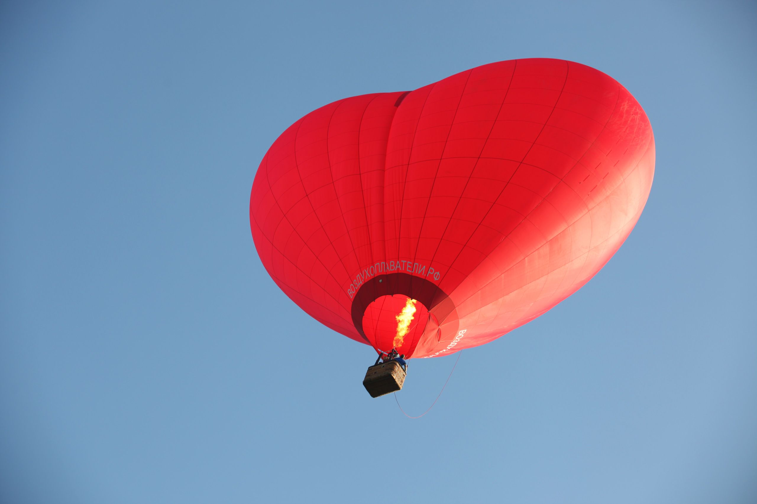 Полёт на воздушном шаре «Сердце» фото 1