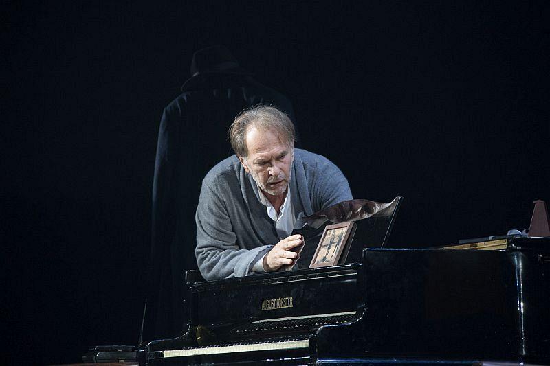 Спектакль «Фальшивая нота» в Театре имени Евг. Вахтангова фото 7