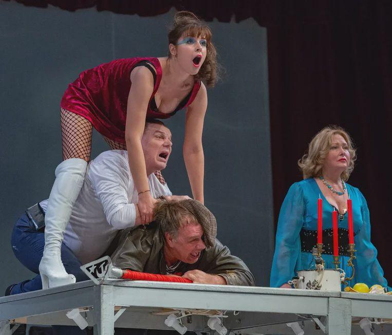 Спектакль «Хомо Эректус» в Театре сатиры фото 1
