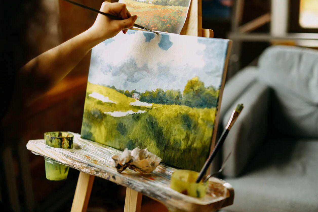 Художественные мастер-классы в студии рисования «Возьми кисть» на Курской