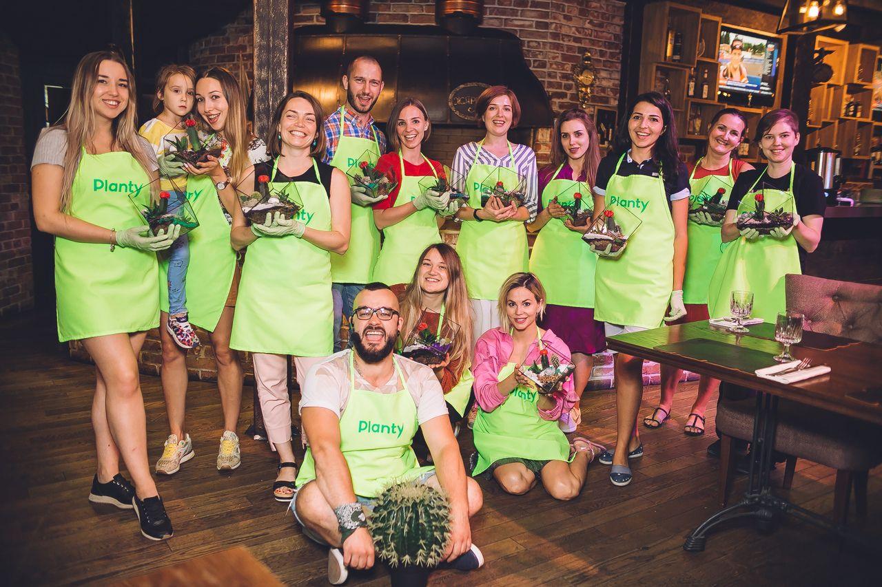 Вечеринки с растениями Planty офлайн и онлайн фото 7